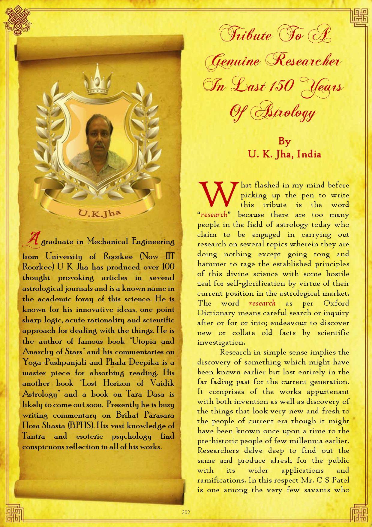 Mathematical Calculations Of Bhrigu Bindu In Astrology