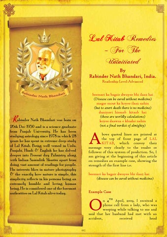 81-LalKitabRemediesFortheUninitiated by Saptarishis Astrology - issuu
