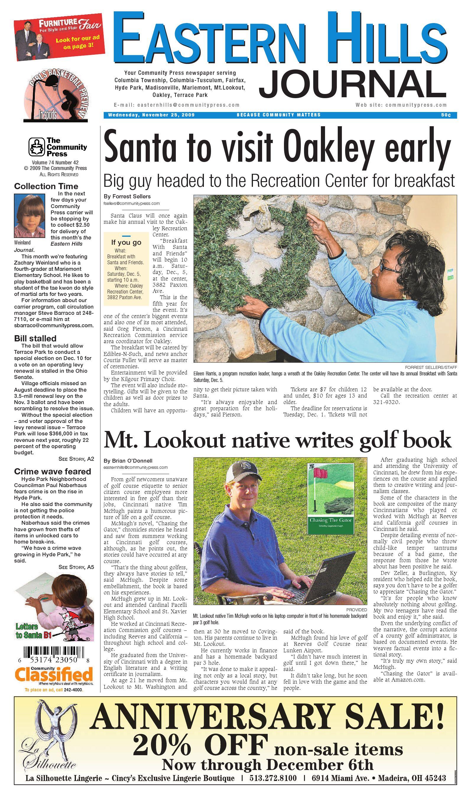 f23b48bb6452 eastern-hills-journal-112509 by Enquirer Media - issuu