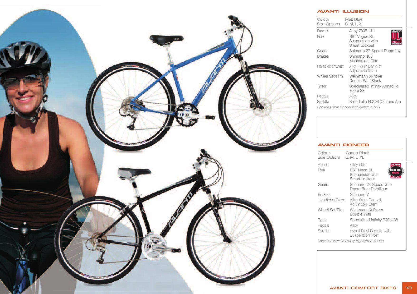 2007 Avanti Bike Catalogue by AvantiPlus Cycles - issuu