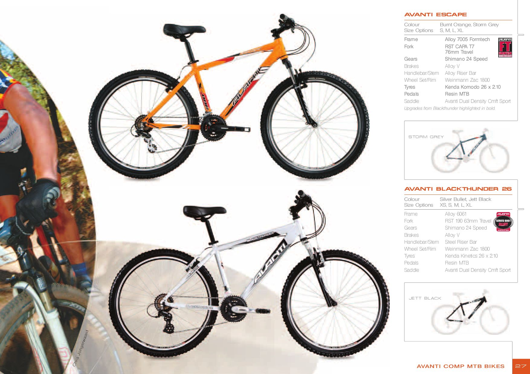 2007 Avanti Bike Catalogue by AvantiPlus Cycles - issuu