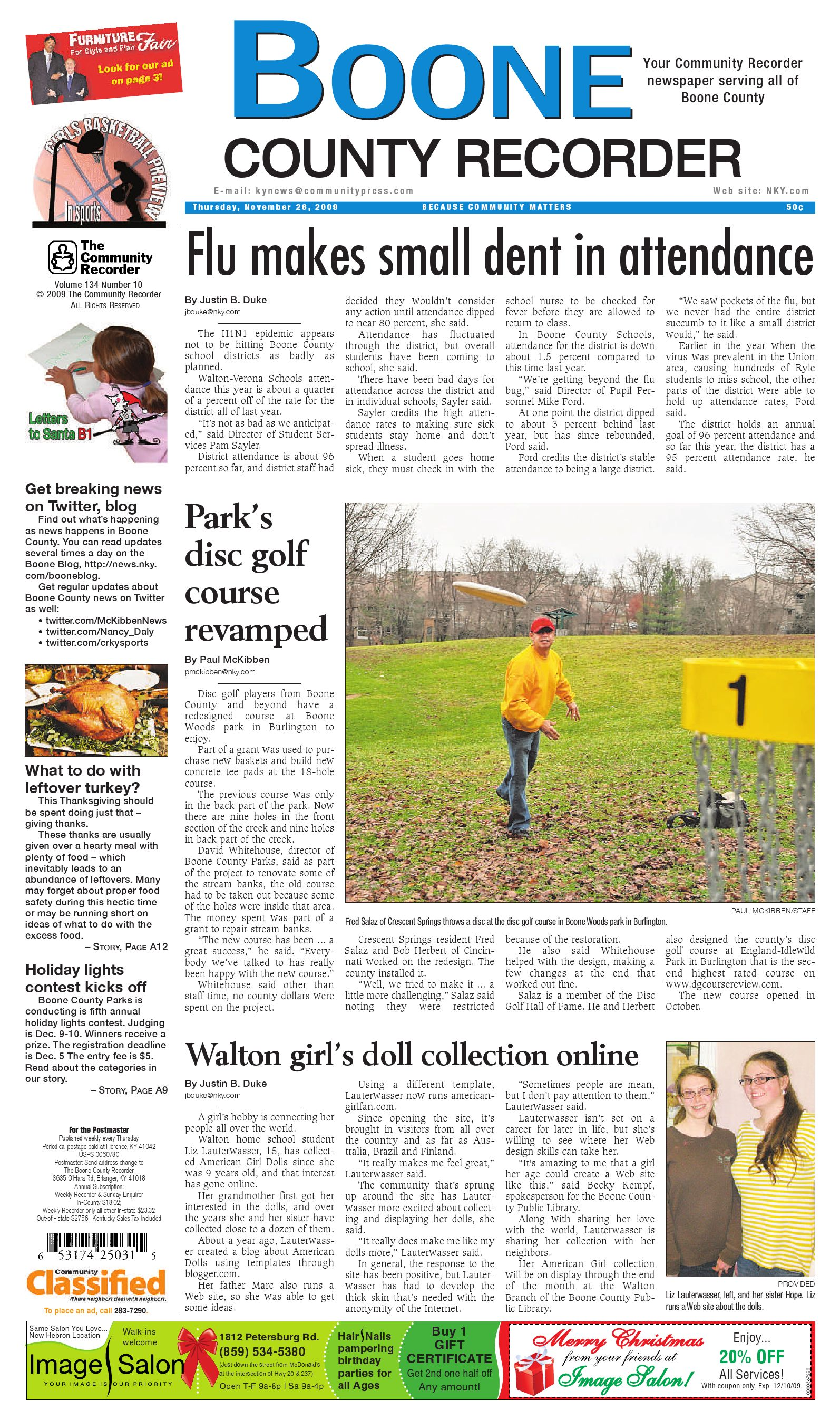 Boone County Recorder 112609 By Enquirer Media Issuu