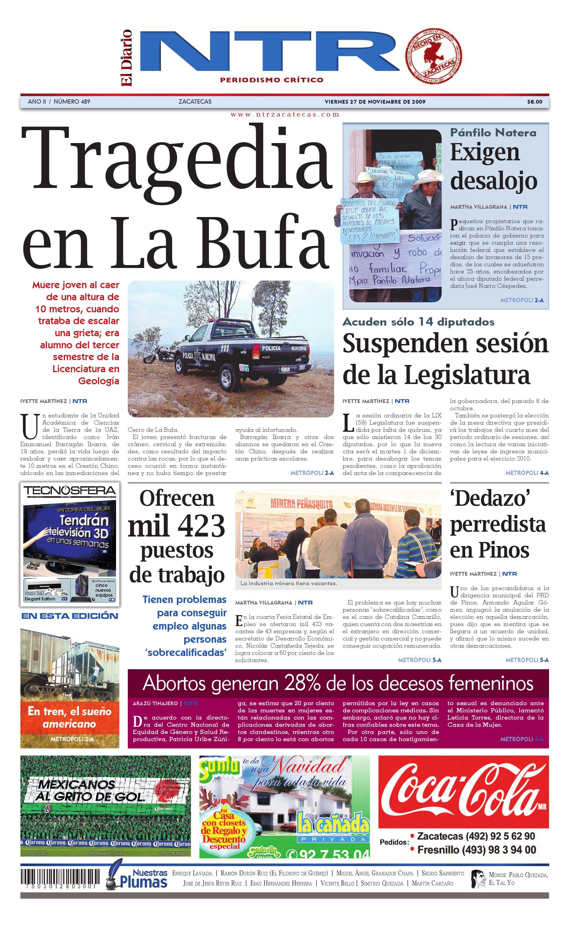 4adf7f010877 El Diario NTR by NTR Medios de Comunicación - issuu