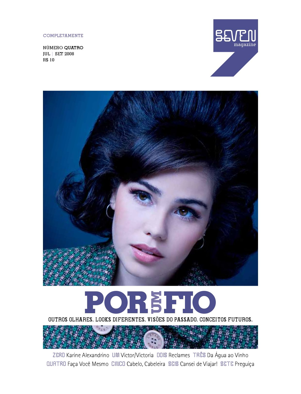 eed476a60 Seven Magazine #4 by Chico Neto - issuu