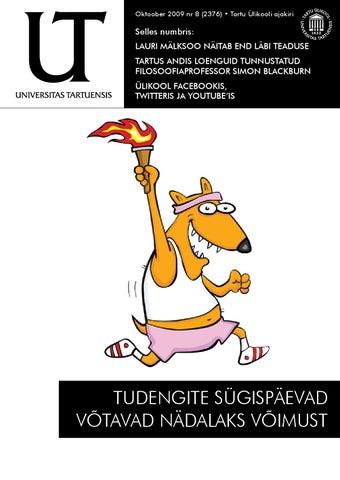 49e3a20f59d UT oktoober 2009, nr 9 by Universitas Tartuensis - issuu