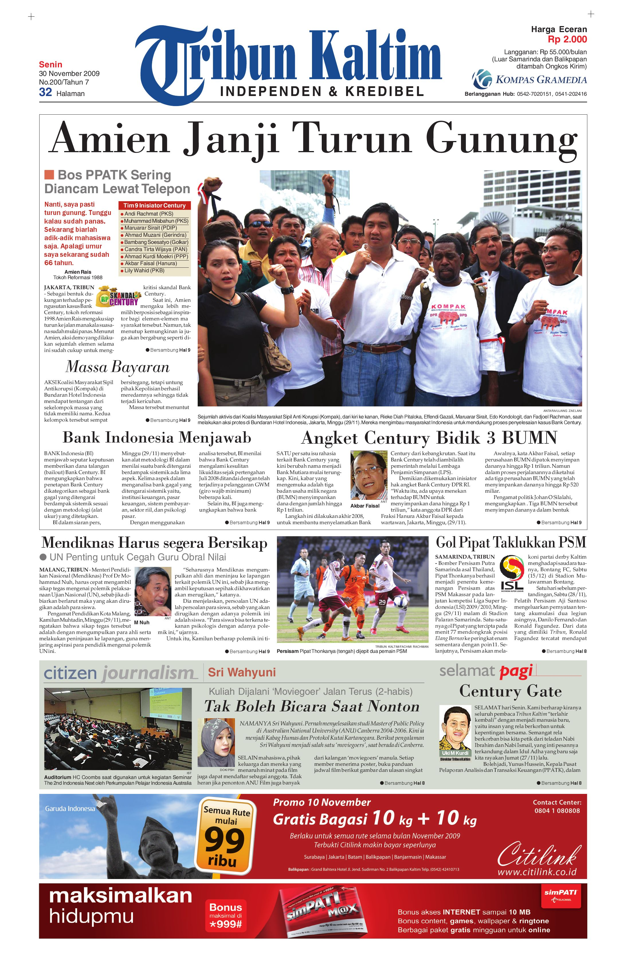 tribunkaltim 30 november 2009 by tohir tribun issuu