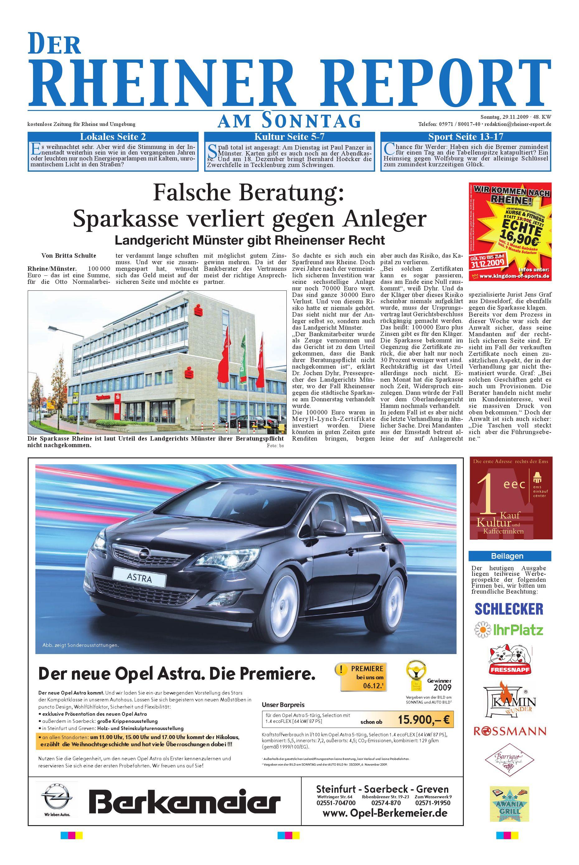 KW 48 by Rheiner Report GmbH - issuu