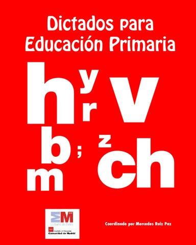DICTADOS PARA EDUCACIÓN PRIMARIA by MONICA - issuu