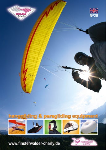 Finsterwalder & Charly Airsport Equipment by Thomas Ide - issuu on