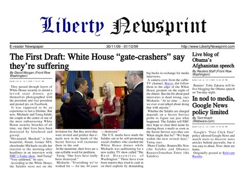 Liberty newsprint dec 01 09 by liberty newspost issuu page 1 fandeluxe Gallery