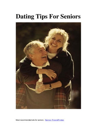 dating tips for older adults