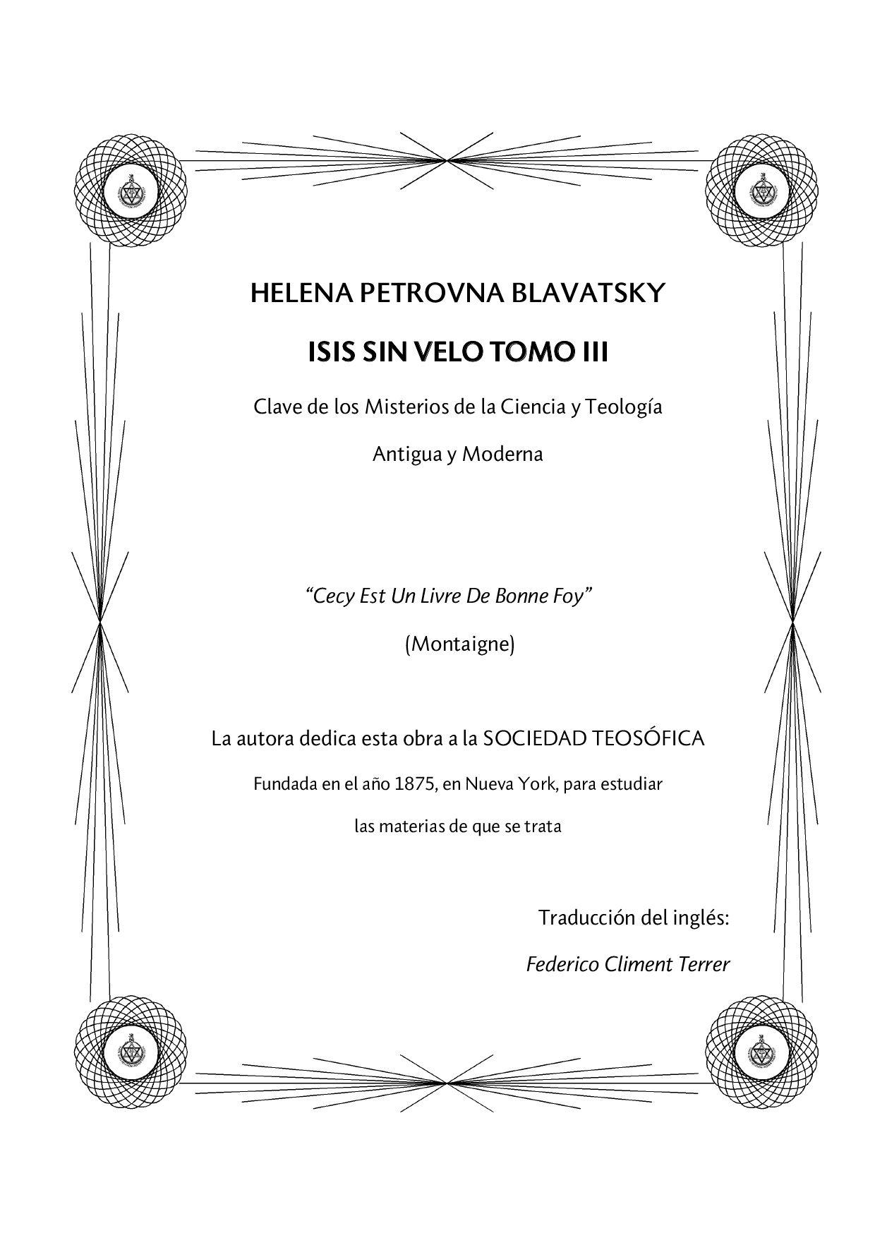 Isis sin velo Volumen III by Pedro Quilez - issuu