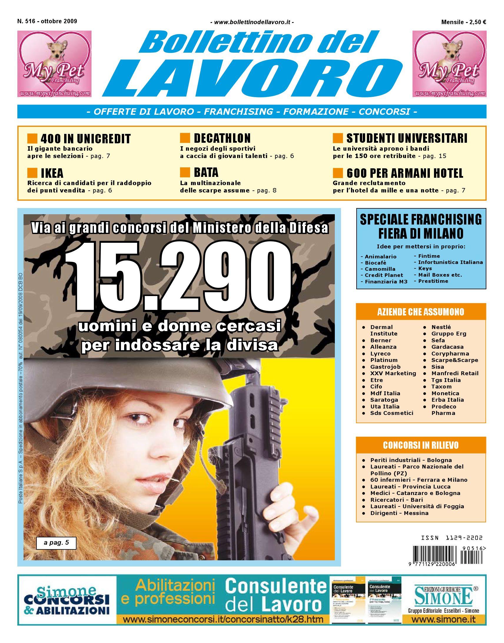 Bollettino del Lavoro by Bollettino del Lavoro - issuu 46edeba223d