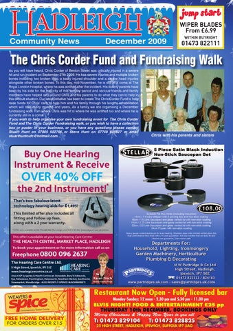 c6fae789601b Hadleigh Community News, December 2009 by Keith Avis Printers - issuu