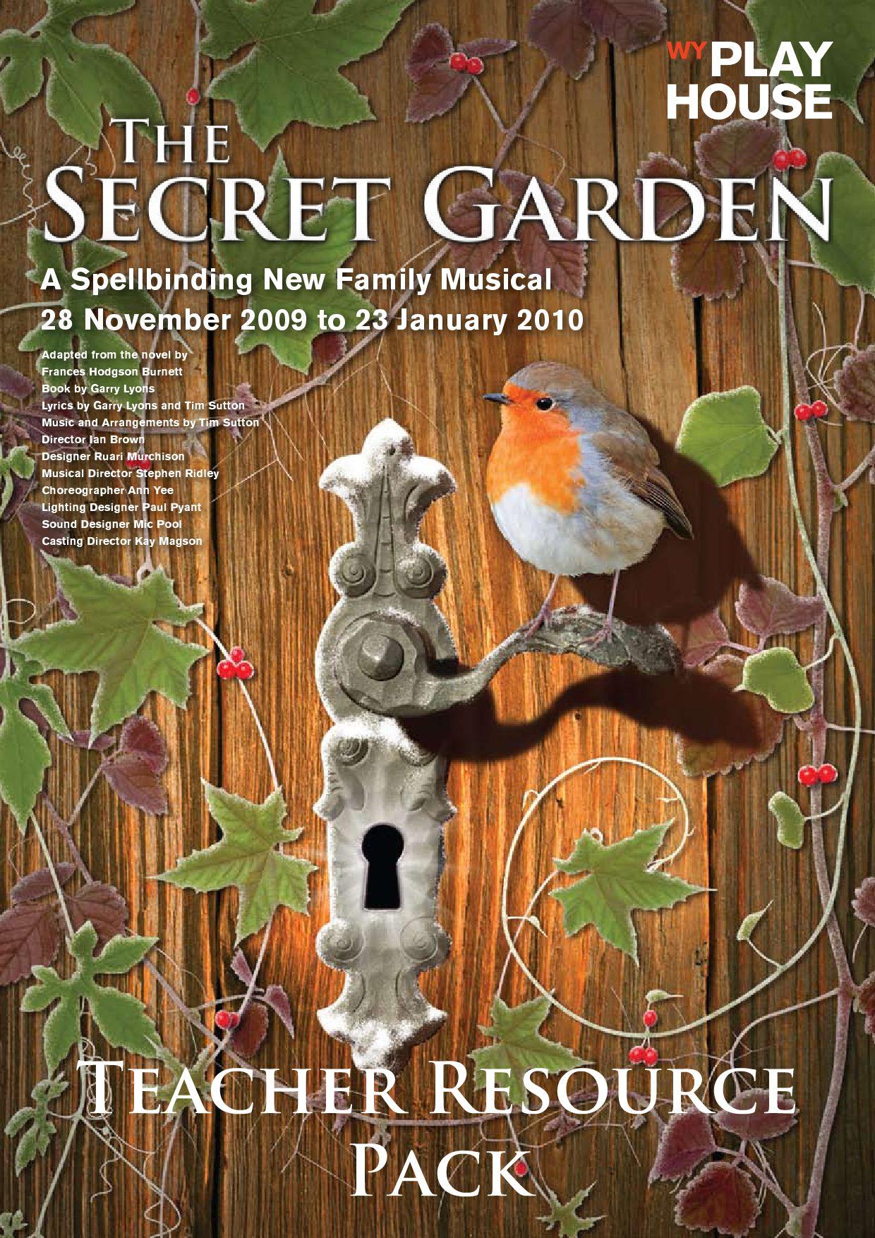 The Secret Garden Resource Pack by Nick Boaden - issuu