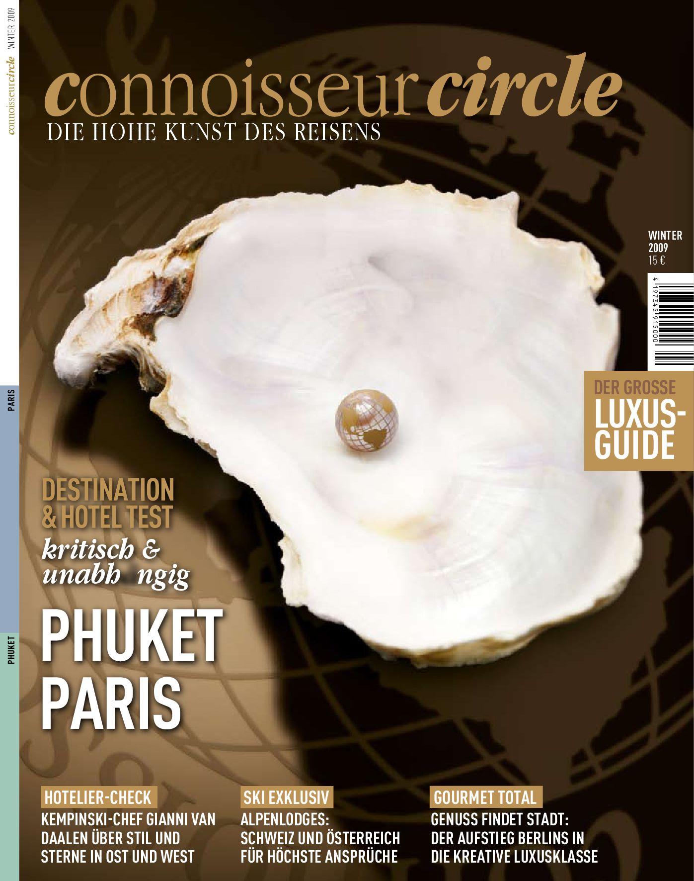 Connoisseur Circle by Simone Dressler - issuu