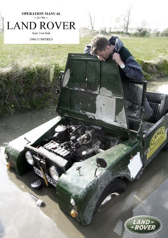 land rover series 1 owner s manual 1950 by per einarsson issuu rh issuu com land rover series 1 parts manual land rover series 1 manual pdf