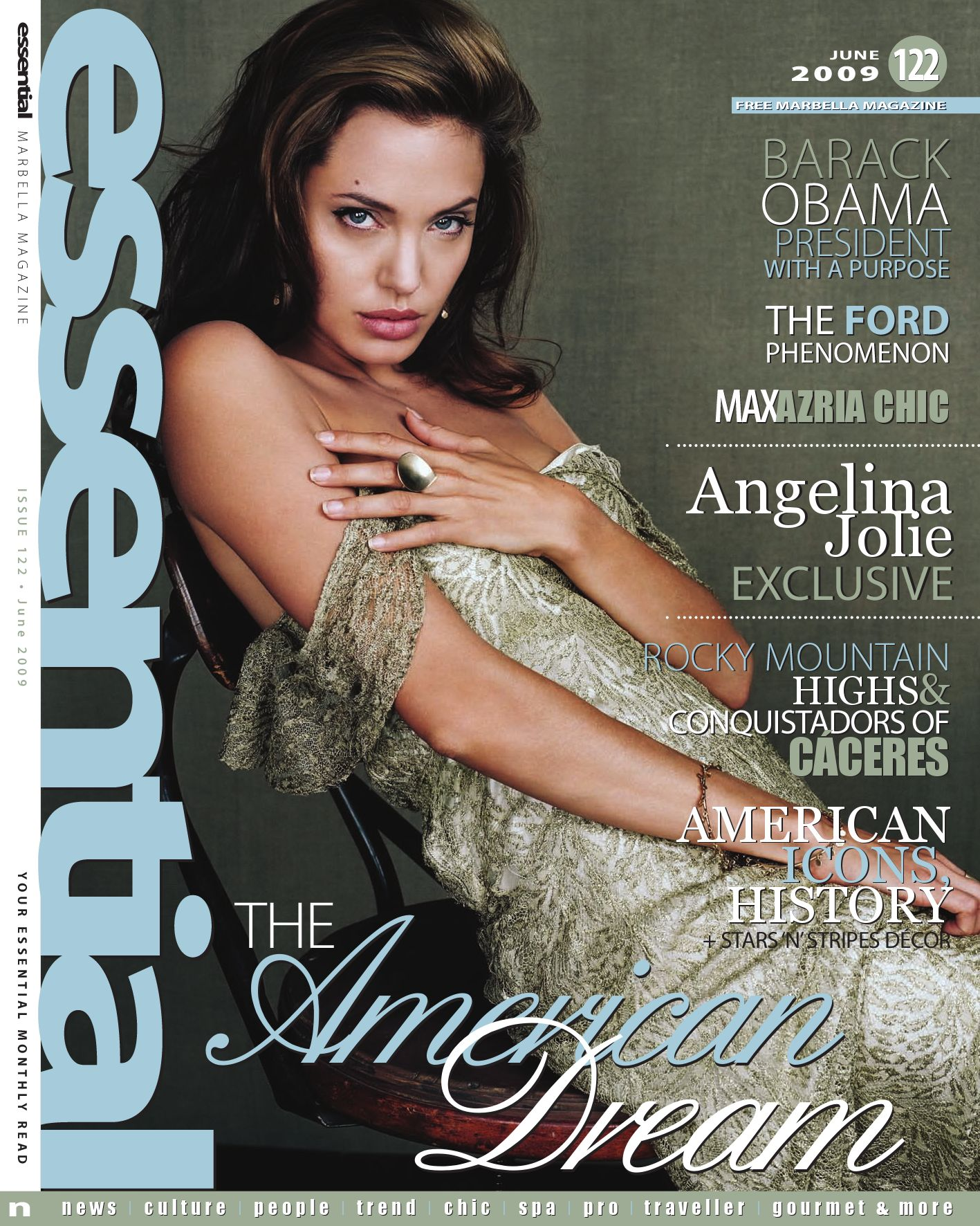 Essential Marbella Magazine June 2009 By Publicaciones  # Muebles Simon Marbella