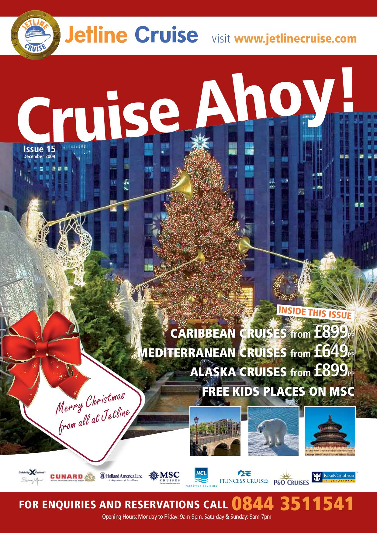 Jetline Cruise Cruise Ahoy December Edition by Paul Frost issuu