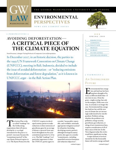 Spring09_EnvironNews by The George Washington University Law