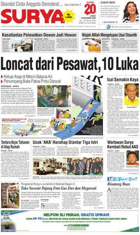 Surya Edisi Cetak 04 Des 2009 by Harian SURYA - issuu 725968eb42