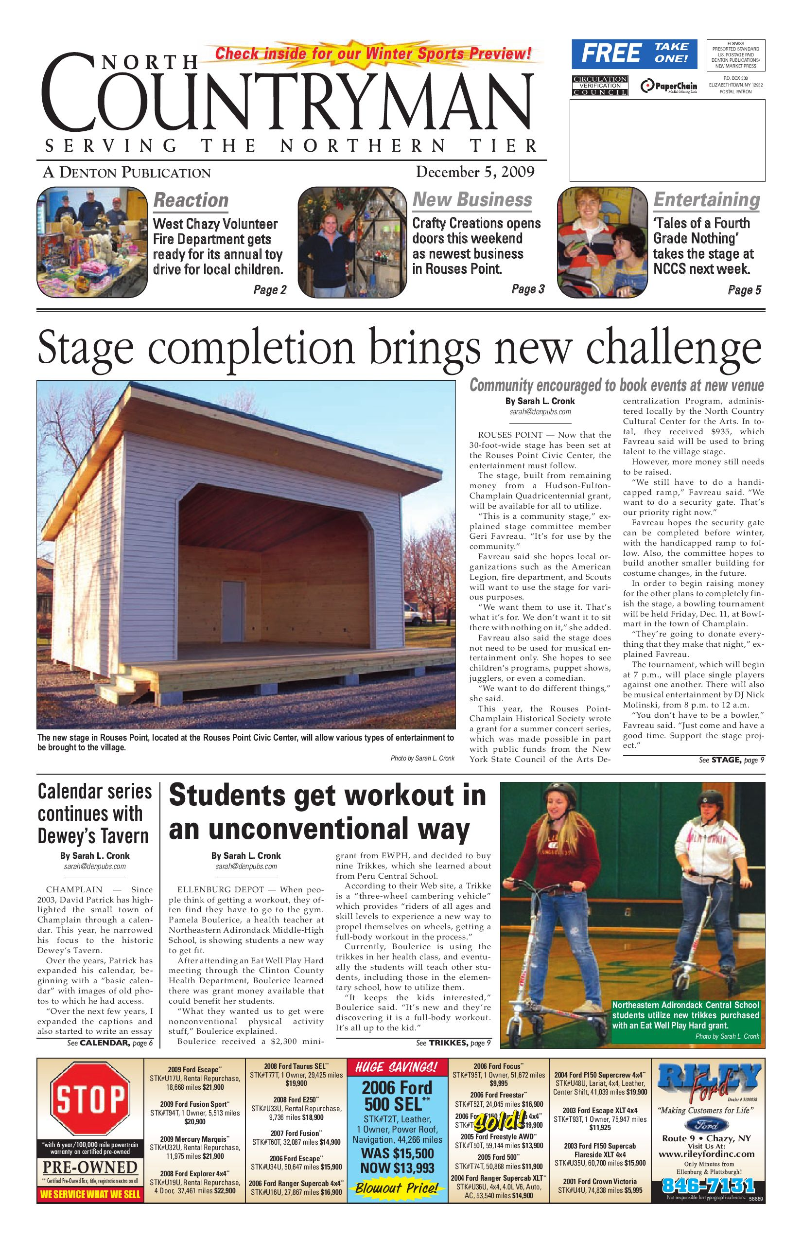 North Countryman 12-05-09 by Sun Community News and Printing - issuu