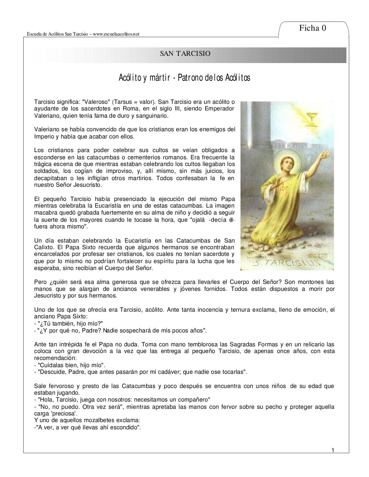 9623058225f48 Manual de Acólitos by Parroquia Fátima - issuu
