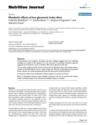 pre diabetes y dietas bajas en carbohidratos