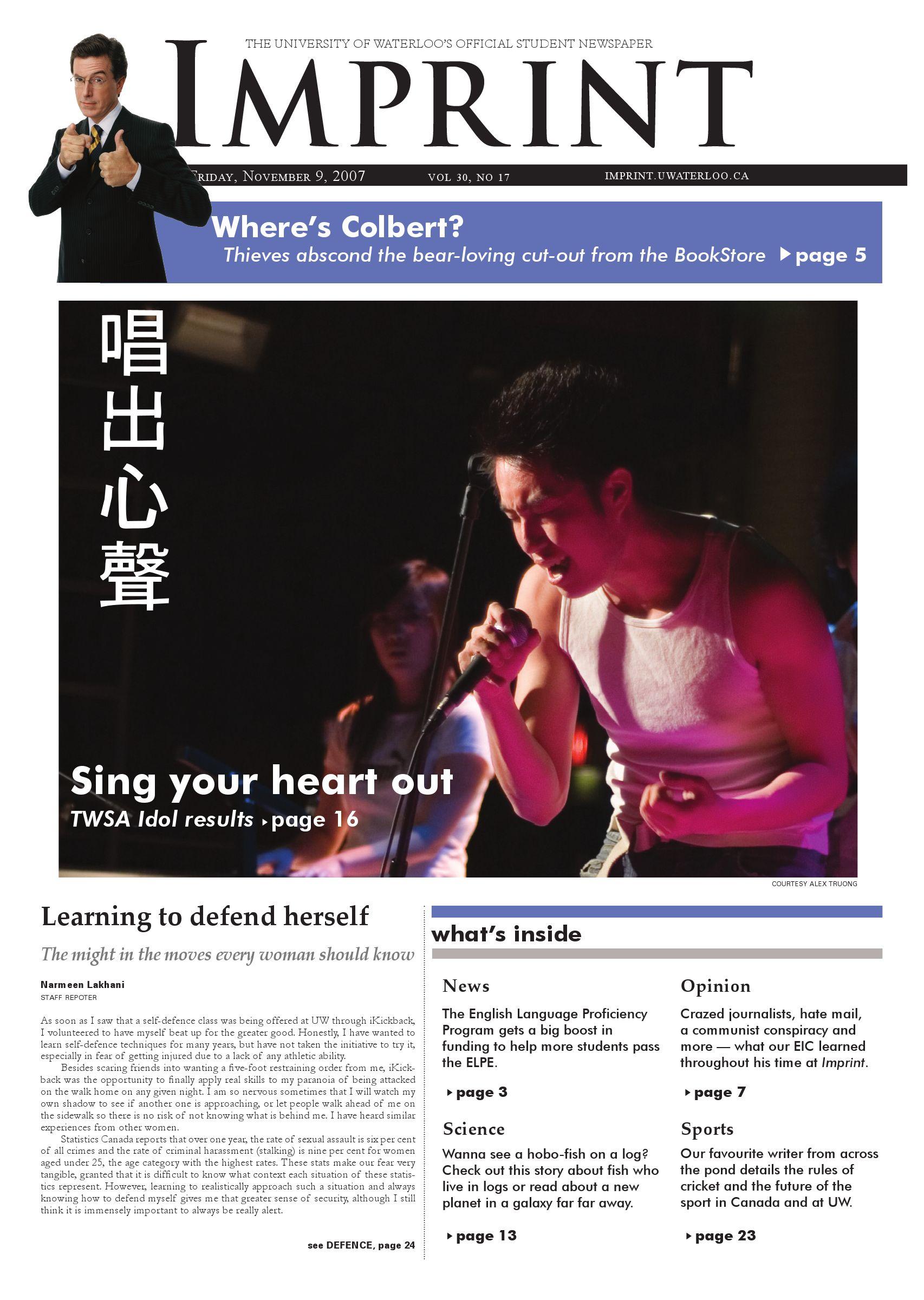 http://imprint uwaterloo ca/mambo/pdfarchive/Imprint_2007-11