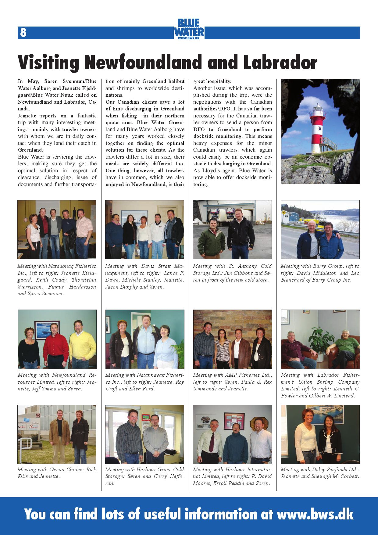 News Aug 2007 UK by Blue Water Shipping - issuu
