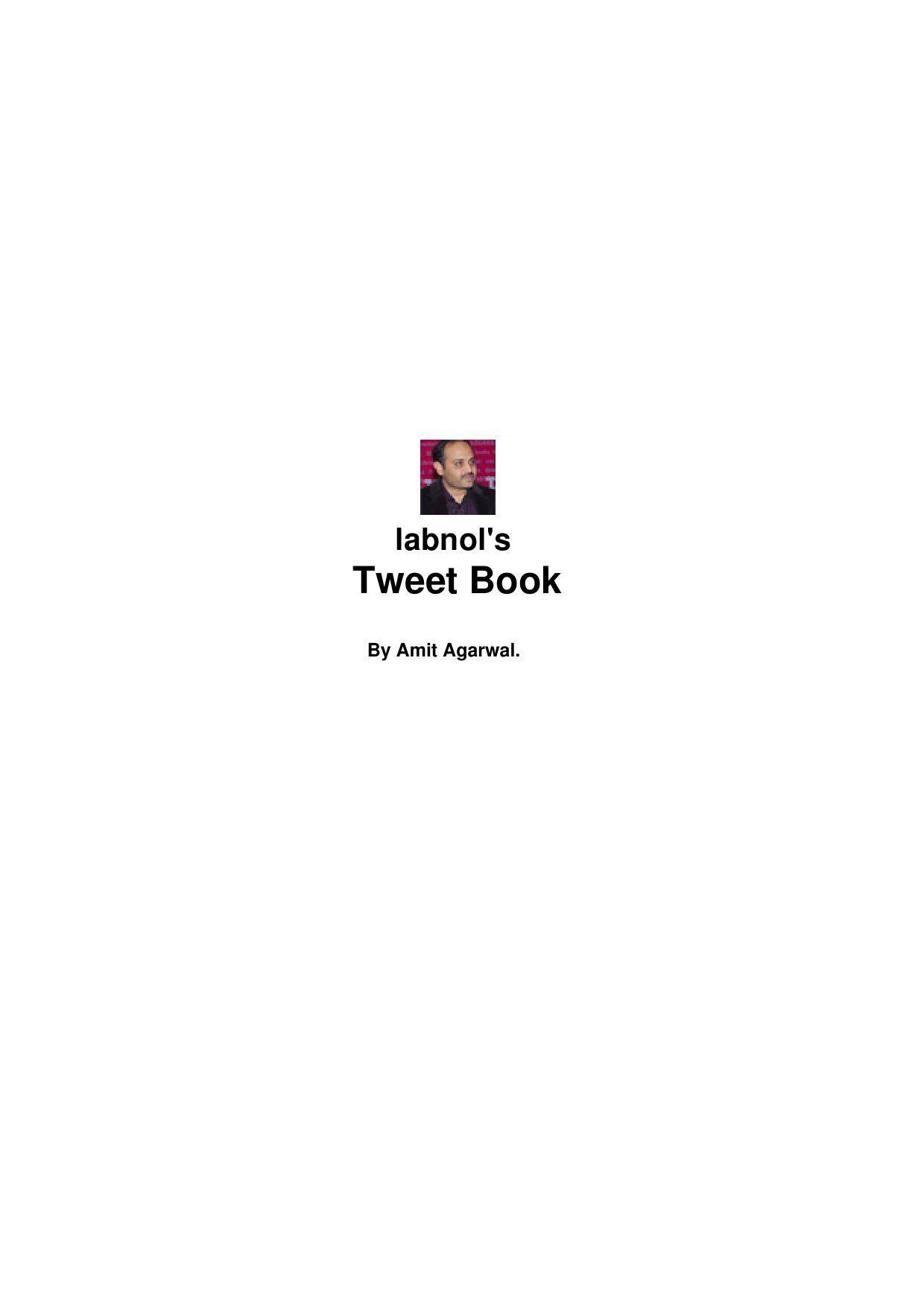 Labnol - Archive of Tweets