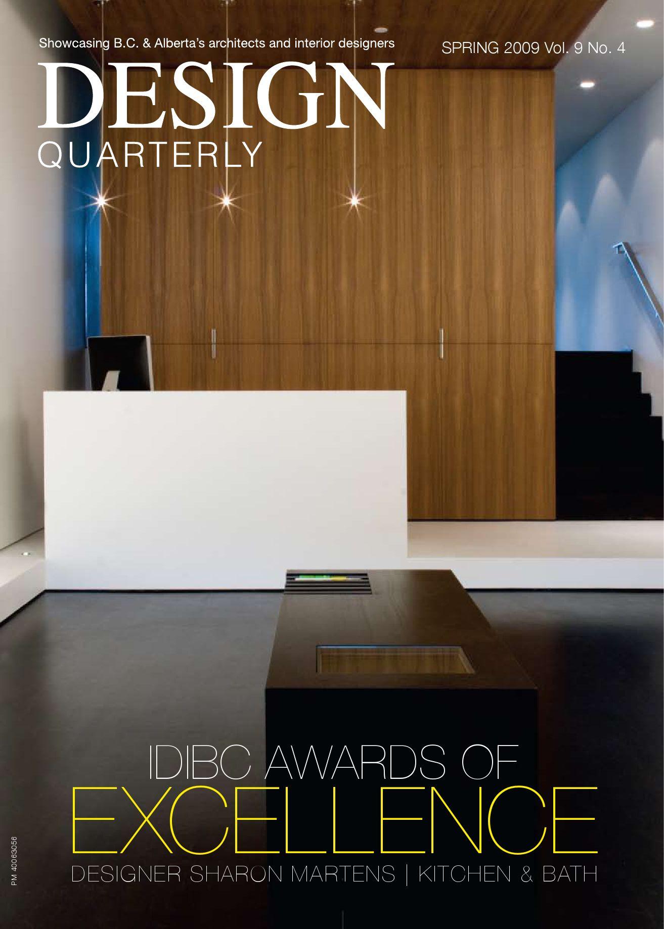 251153cbfb3 Design Quarterly Spring 2009 by MediaEdge - issuu
