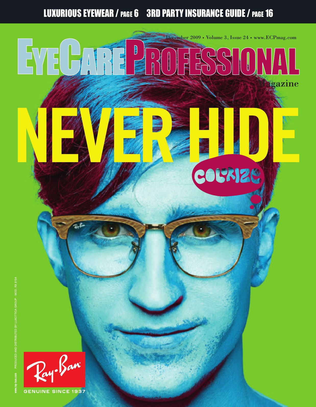 400ff00807a EyeCare Professional Magazine December 2009 Issue by ECP Magazine ...