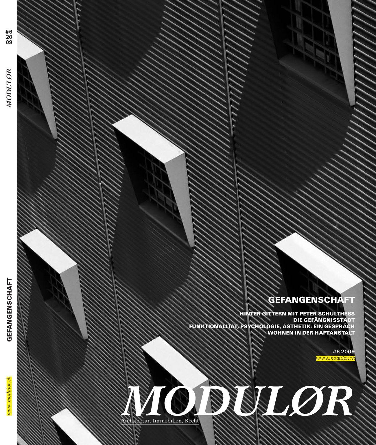 MODULØR #6 2009 by Boll Verlag - issuu