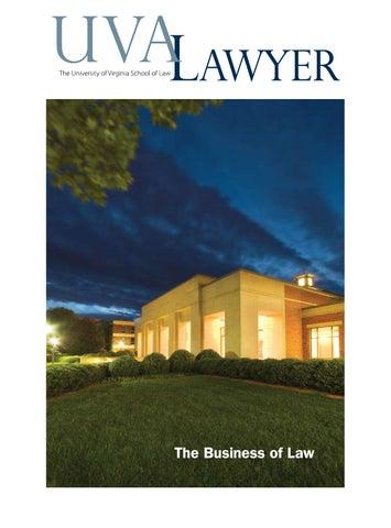Uva Lawyer By University Of Virginia School Of Law Issuu