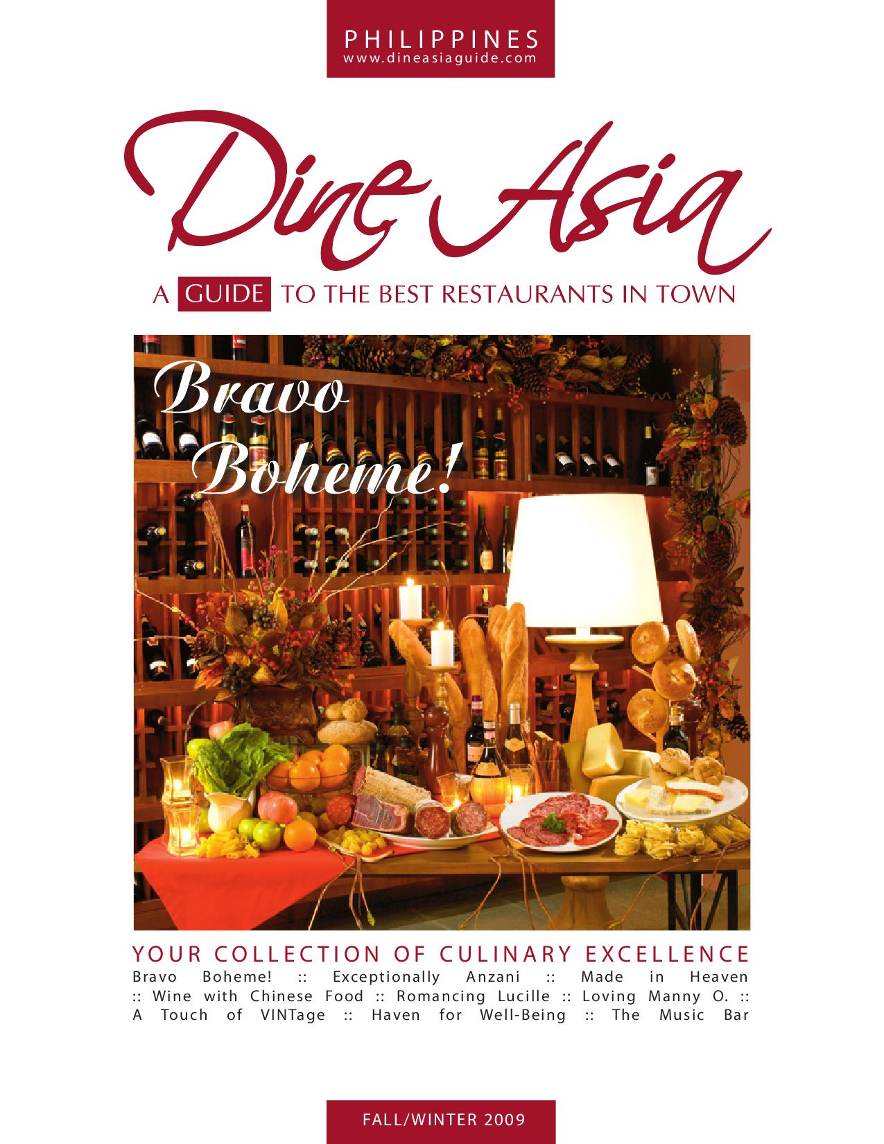 Dine Asia Guide Fall/Winter09 by Dine Asia Publishing - issuu