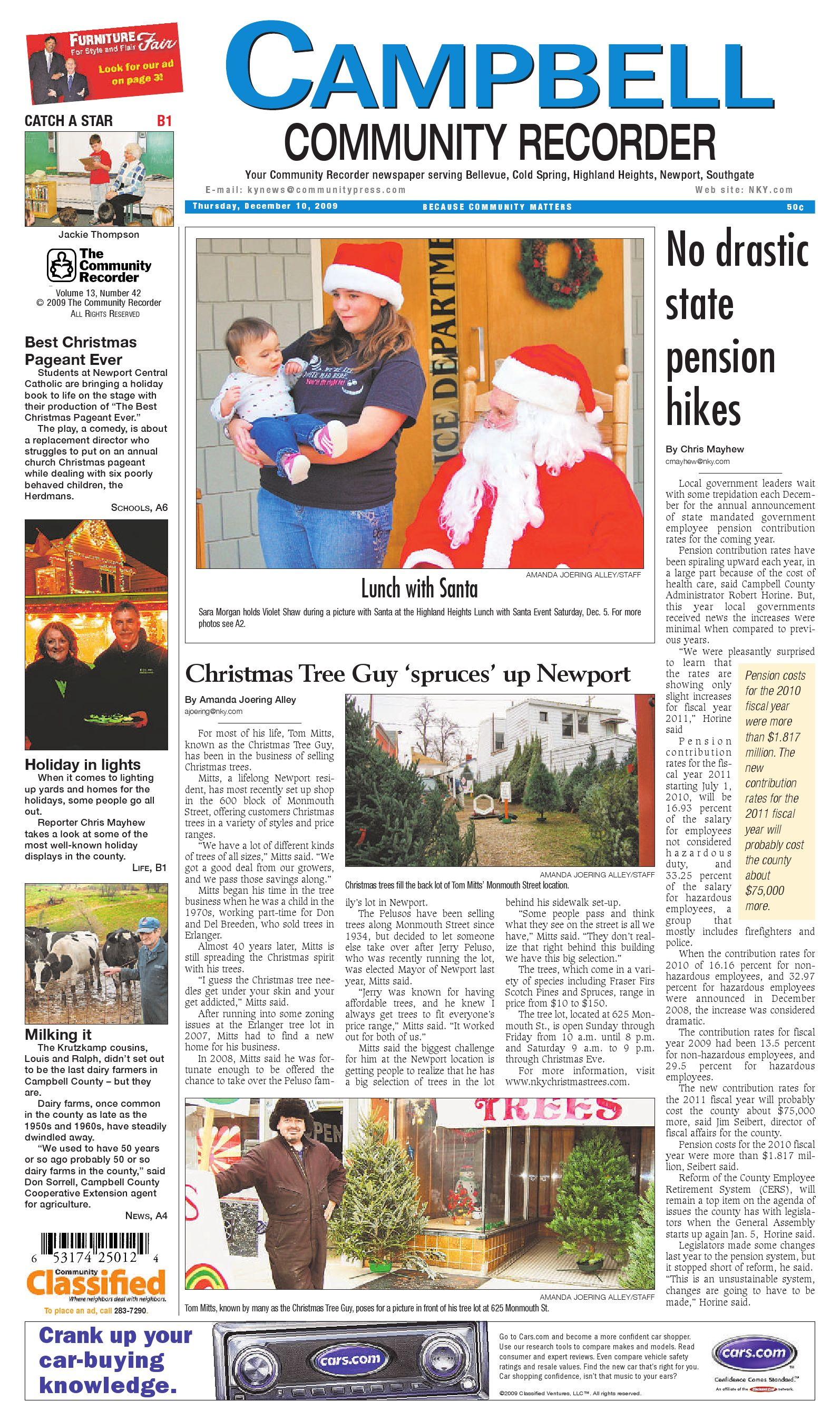 campbell-community-recorder-121009 by Enquirer Media - issuu