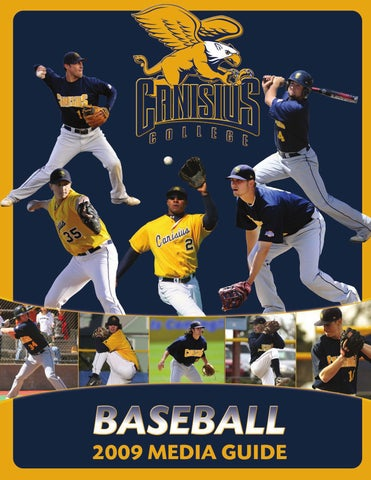 best service 572e3 30f31 2009 Canisius College Baseball Media Guide by Canisius ...