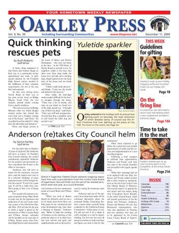 2076a47978 Oakley Press 12.11.09 by Brentwood Press   Publishing - issuu