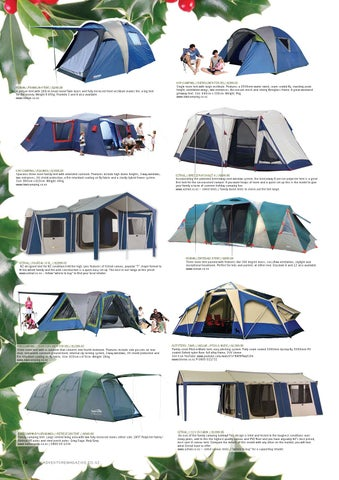 ROMAN//FRANKLIN 4 TENT//$249.99 4 person tent with 180cm head room! Twin doors and fully enclosed front vestibule makes this a big tent for the money.  sc 1 st  Issuu & Adventure Magazine Christmas Gift Guide by Erik Baars - issuu