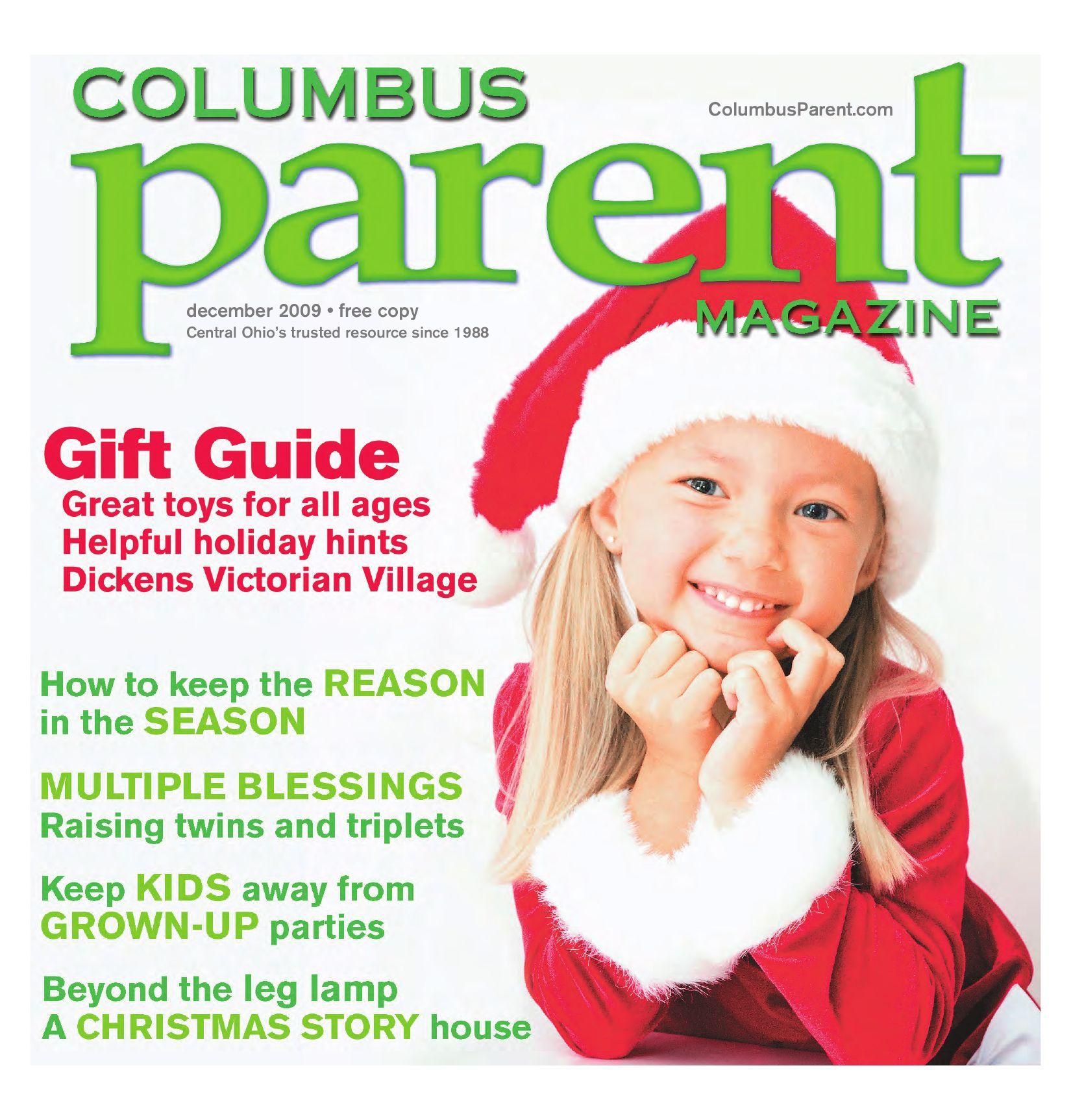bd824a784adc1 Columbus Parent Magazine - December 2009 by The Columbus Dispatch ...