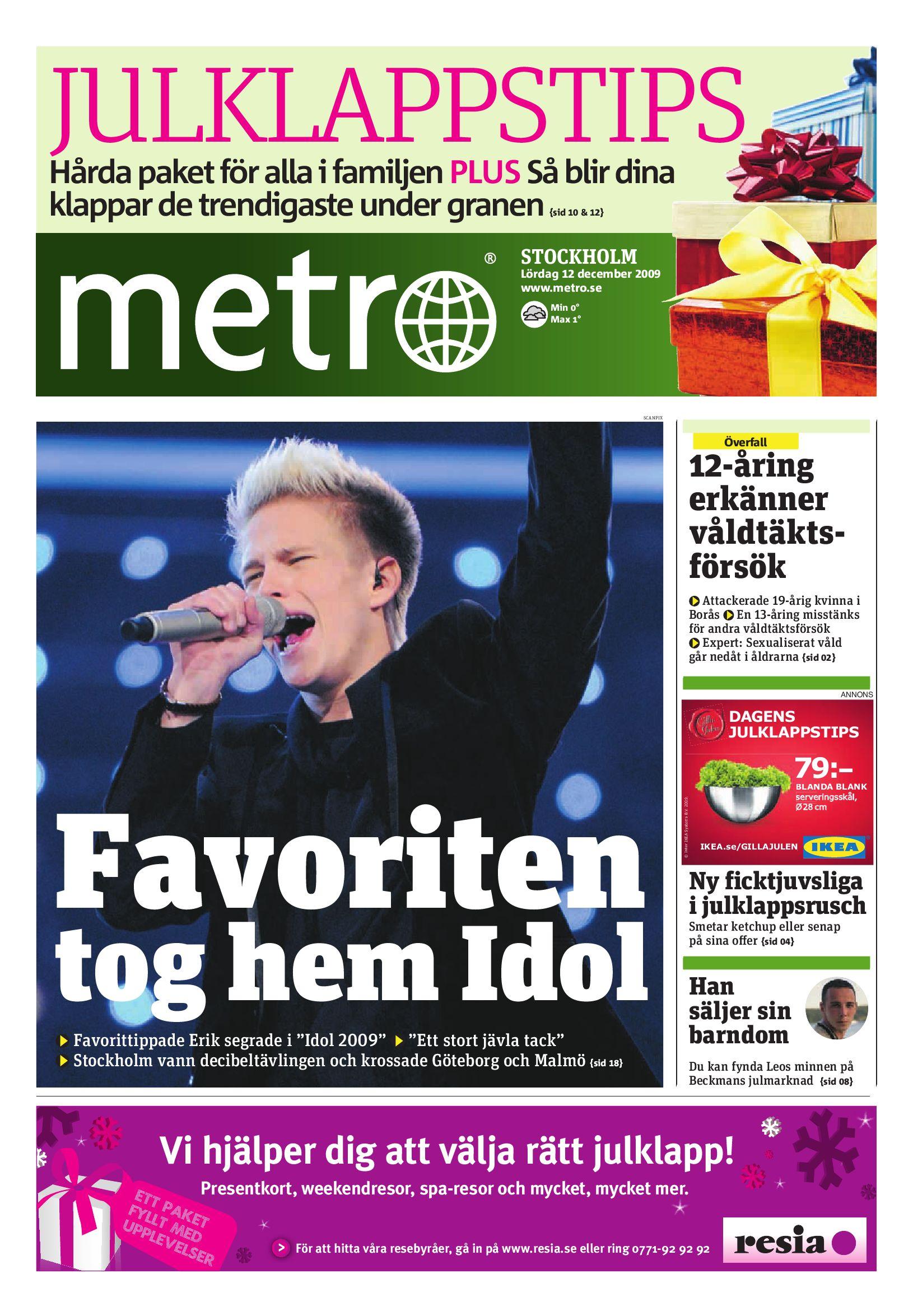 buy popular 68aa4 77eb2 http   www.readmetro.com media archive pdf 20091212 Stockholm by Metro  International - issuu
