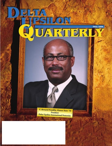 Du Quarterly Volume 124 No 3 By Delta Upsilon Issuu