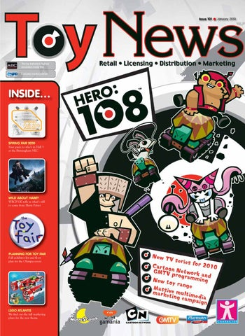 ToyNews Issue 101 January 2010 By Intent Media Now Newbay