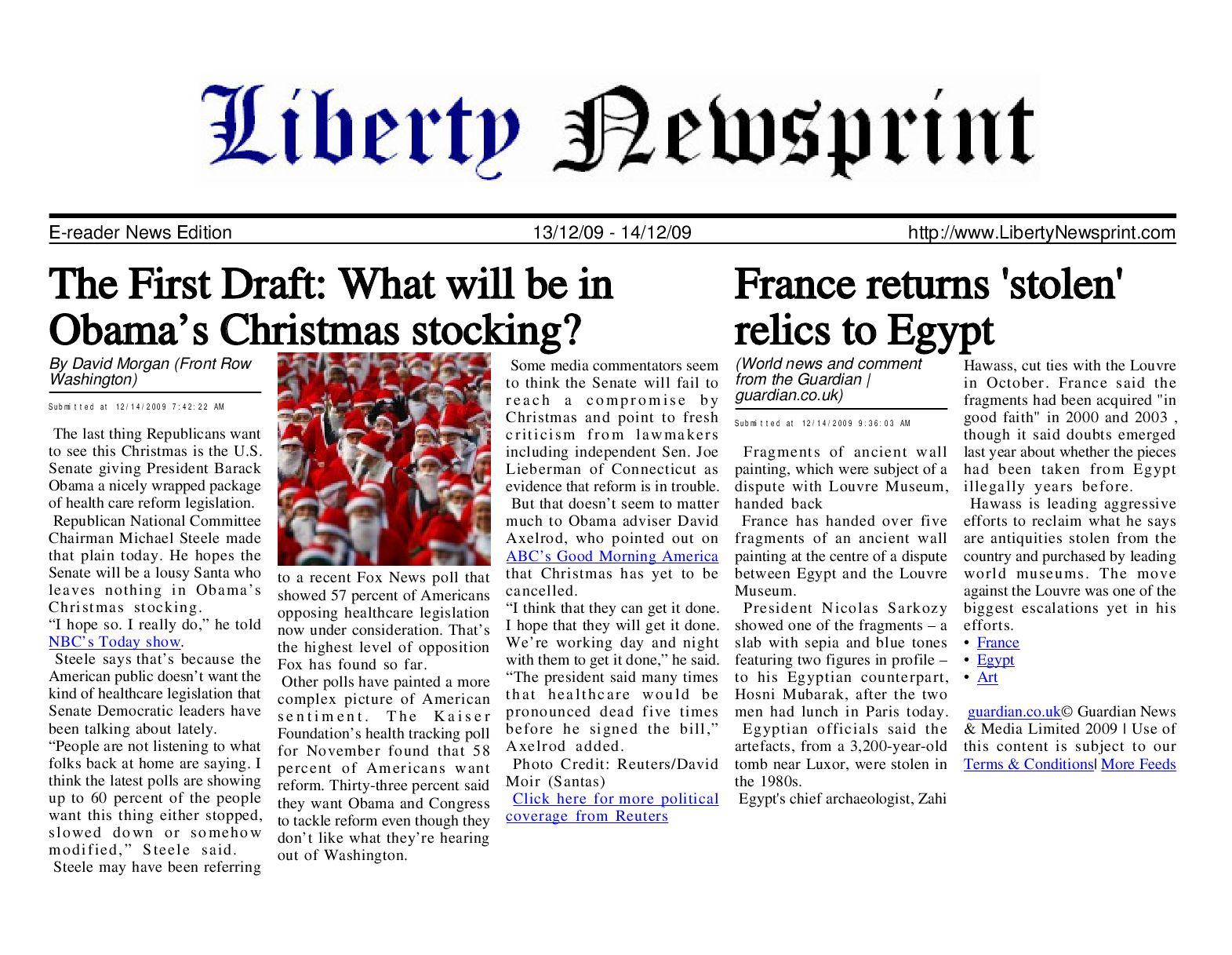 size 40 faf2d 3ec7a Liberty Newsprint Dec-14-09 by Liberty Newspost - issuu