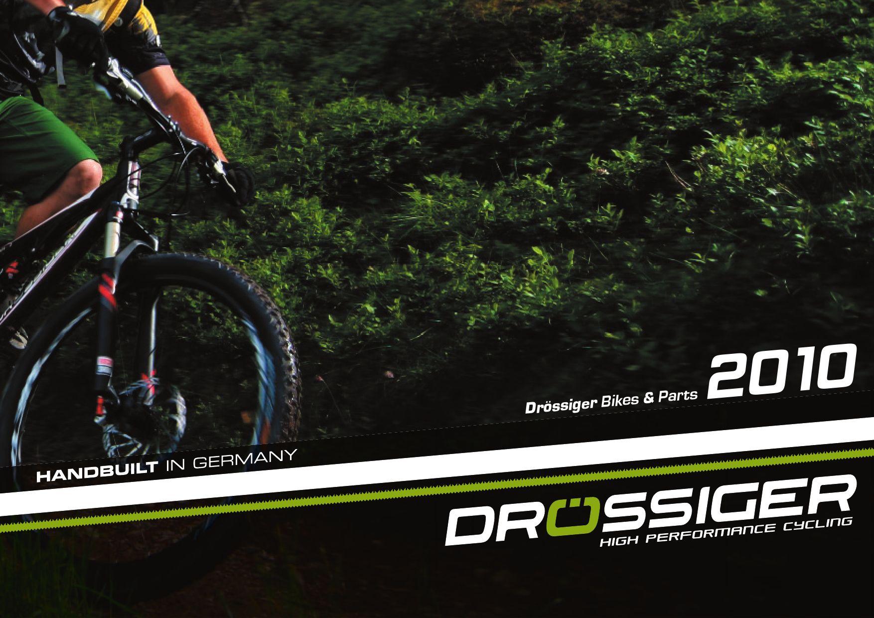 Drössiger Bikes 2010 by Tomazzini www.tomazzini.com - issuu