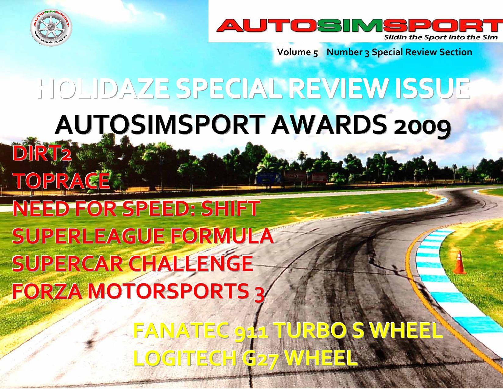 AutoSimSport Magazine, Volume 5, Issue 3, Special Review