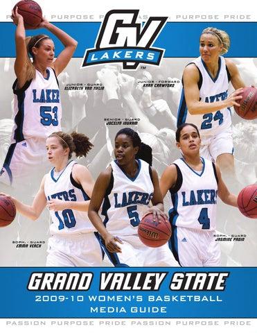 GVSU Women's Basketball Media Guide by Grand Valley State ...