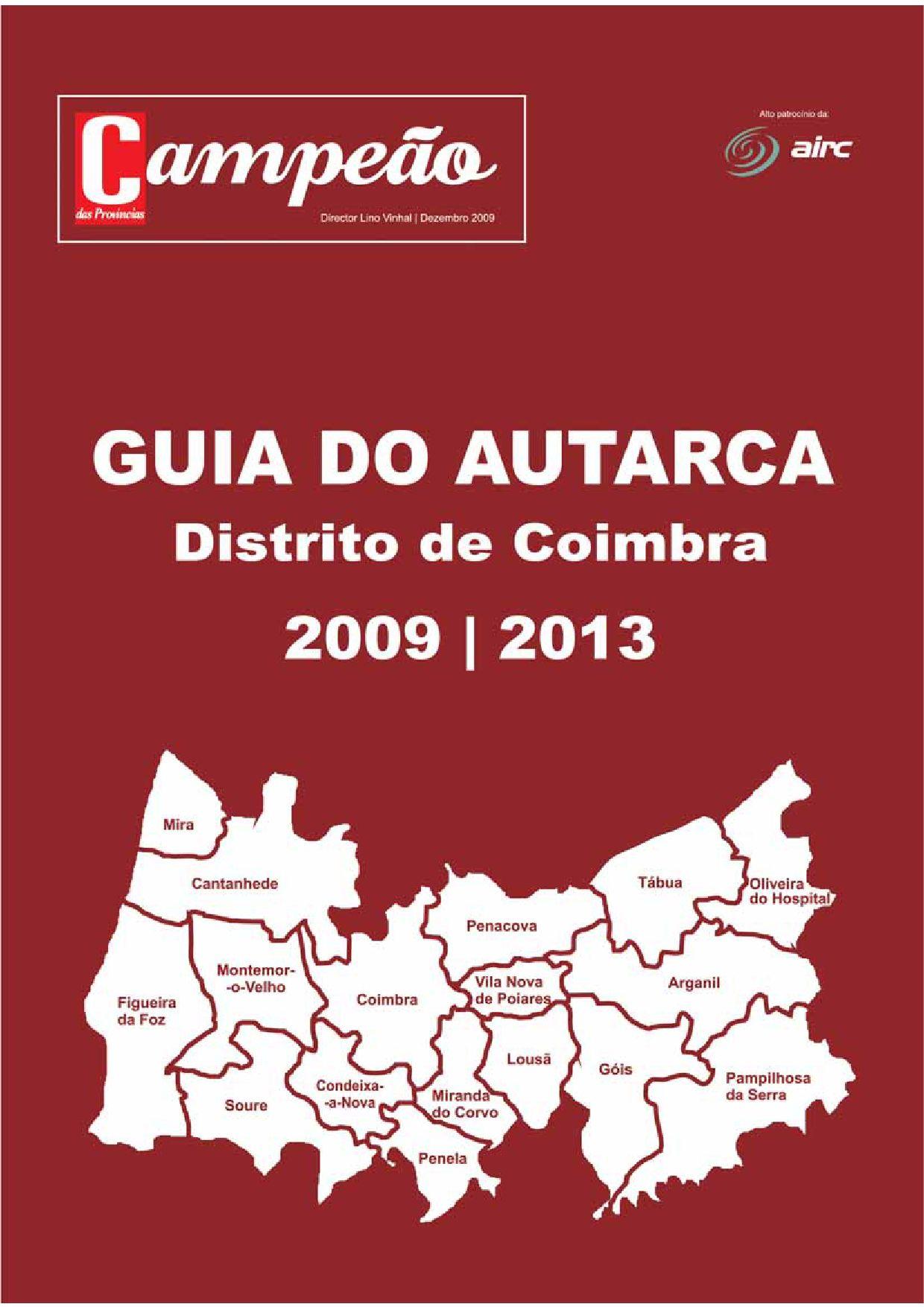 0b57cc7cc Guia do Autarca 2009 2013 by Campeão Províncias - issuu