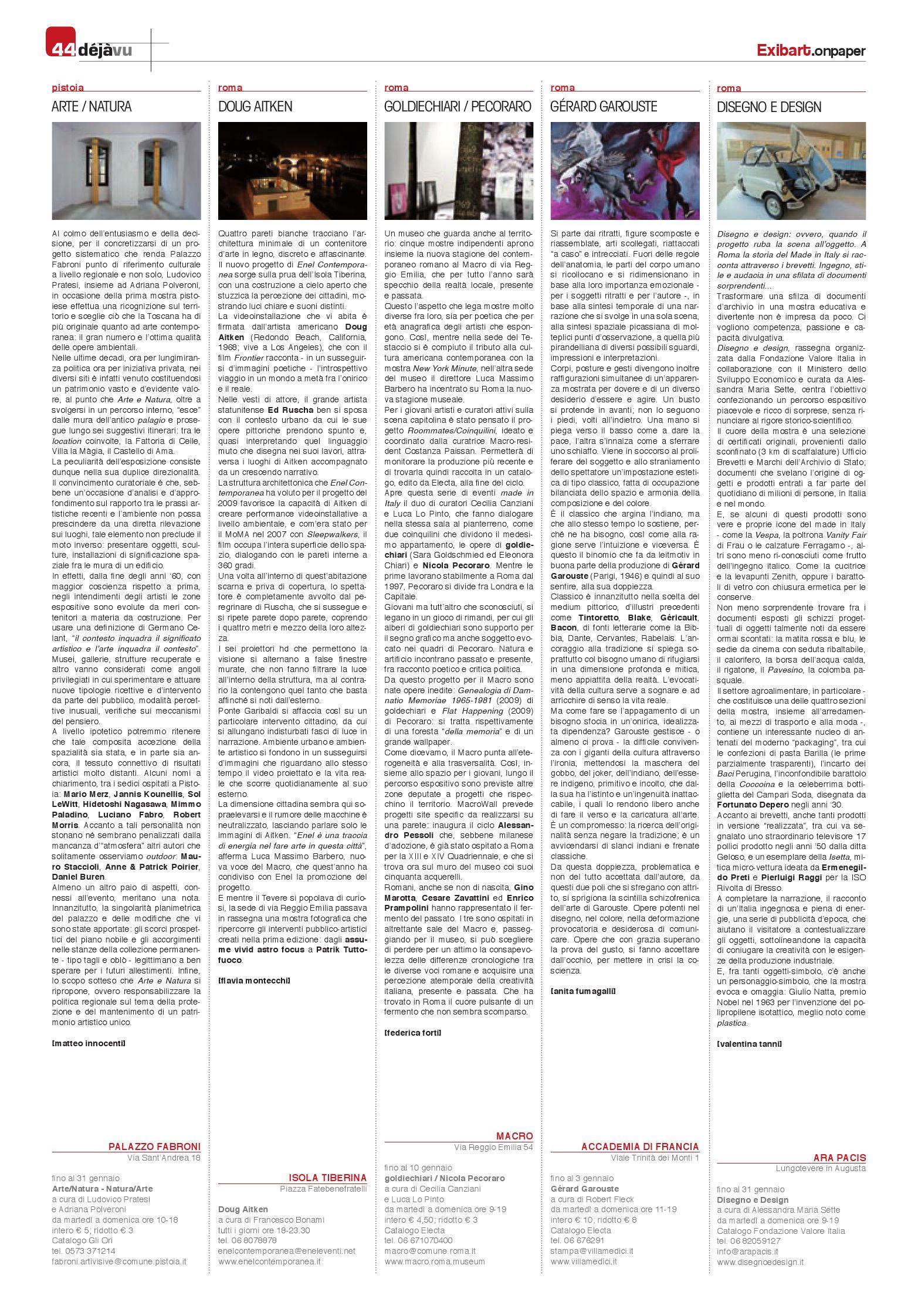 Exibart.onpaper n.82 by Exibart srl issuu